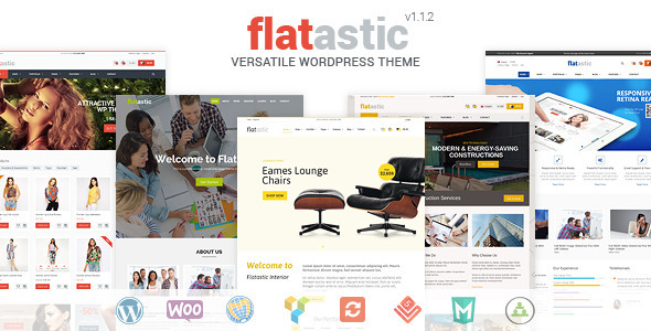 Flatastic - Versatile WordPress Theme - WooCommerce eCommerce