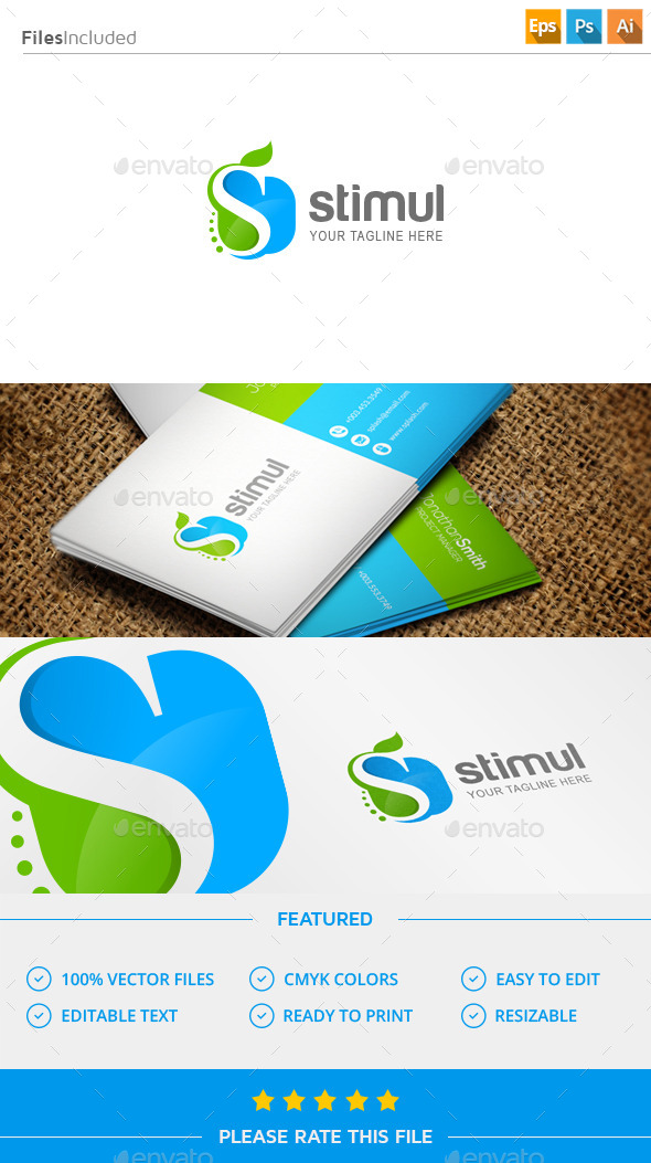 GraphicRiver Letter S Pharmacy Logo 11498776
