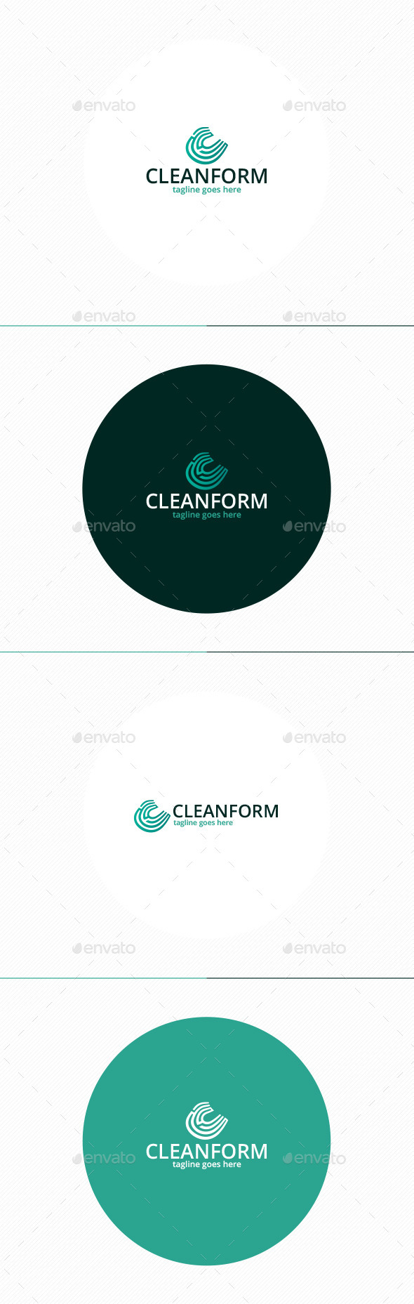 GraphicRiver Clean Form Logo Letter C 11498794