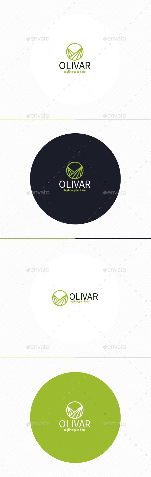 GraphicRiver Olivar Logo 11499159