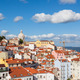 Lisbon rooftop from Portas do sol viewpoint - Miradouro in Portu - PhotoDune Item for Sale