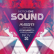 Motion Sound Flyer Template - GraphicRiver Item for Sale