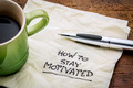 How to stay motivated - PhotoDune Item for Sale