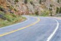 windy, mountain Road through canyon - PhotoDune Item for Sale