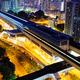 Long Ping, hong kong urban downtown at night - PhotoDune Item for Sale