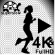 Super Slow Motion Woman Running Move - VideoHive Item for Sale