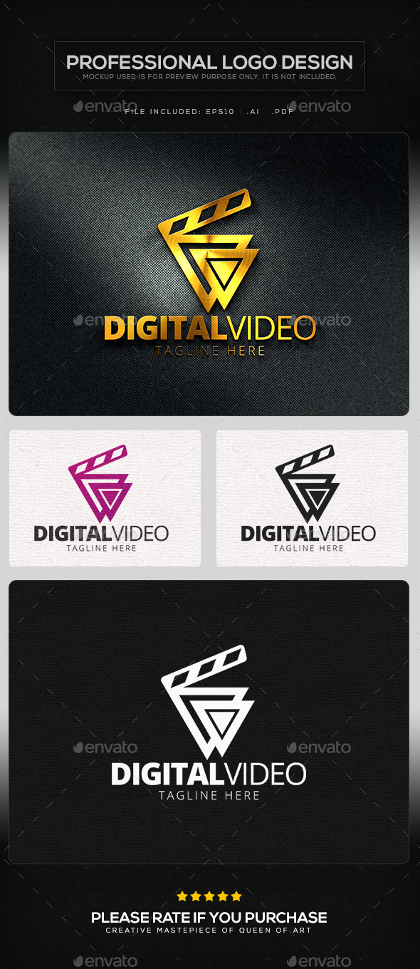 GraphicRiver Digital Video Logo Template 11499656