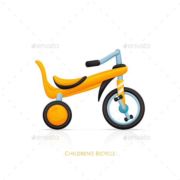 GraphicRiver Childrens Bicycle Two 11499844