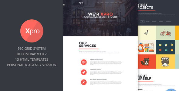 Xpro - Onepage Multipurpose Wordpress Theme