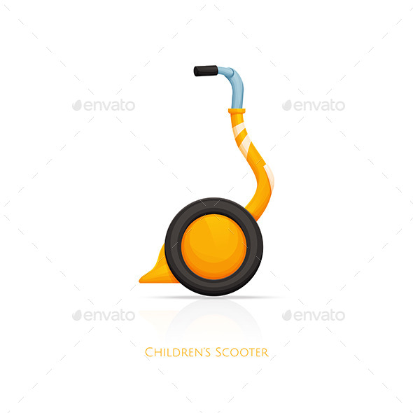 GraphicRiver Childrens Scooter One 11499846