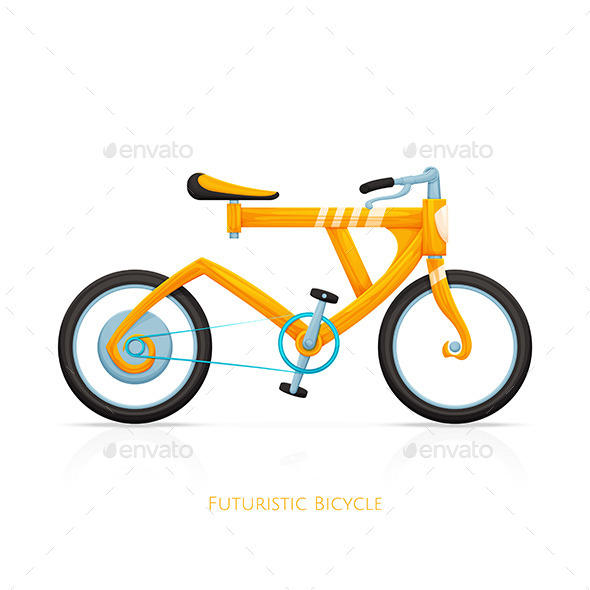 Futuristic Bicycle