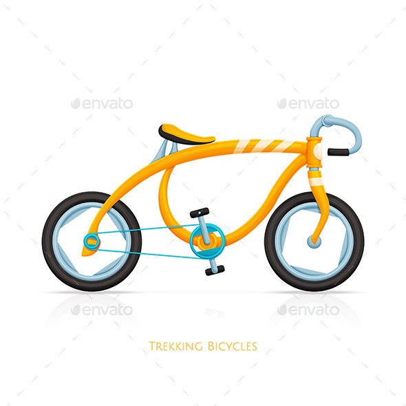 GraphicRiver Trekking Bicycles One 11499873