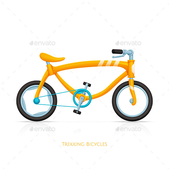 GraphicRiver Trekking Bicycles Two 11499874