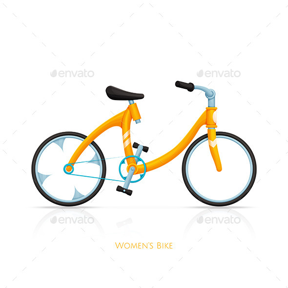 GraphicRiver Womens Bike One 11499875