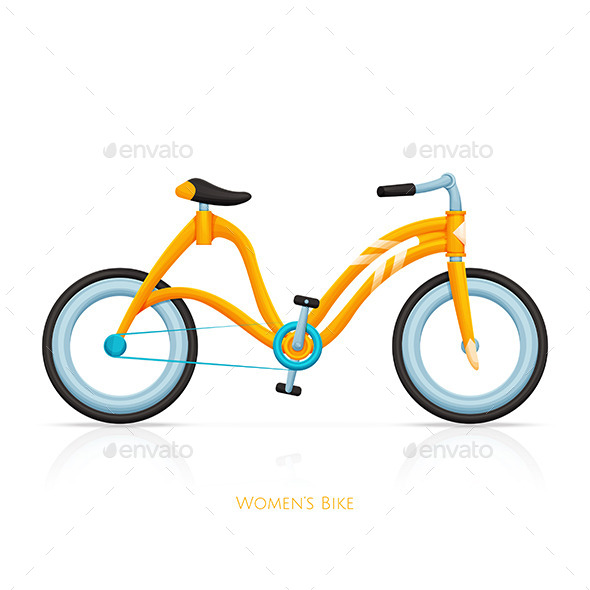 GraphicRiver Womens Bike Two 11499877
