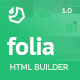 Folia - Landing Pages Pack With Page Builder - ThemeForest Item for Sale