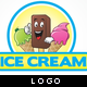 Ice Cream Logo - GraphicRiver Item for Sale