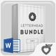 Letterhead Bundle - GraphicRiver Item for Sale