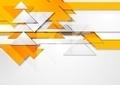 Orange shiny hi-tech motion background - PhotoDune Item for Sale