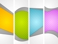 Abstract wavy corporate vertical banners - PhotoDune Item for Sale