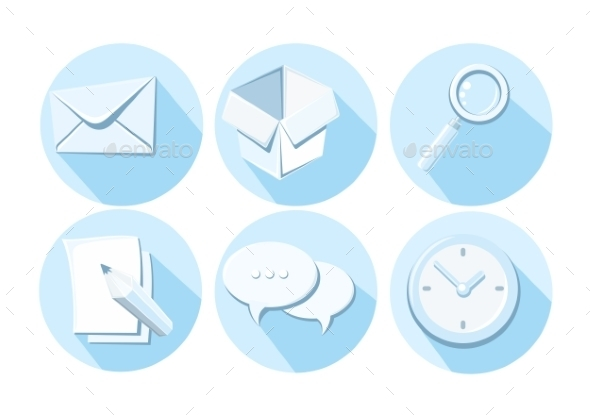 GraphicRiver Set Of Business Icons 11503035