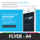 Mobile Apps Promotion Flyer Psd Template - GraphicRiver Item for Sale
