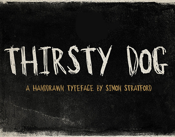 GraphicRiver Thirsty Dog 11498043