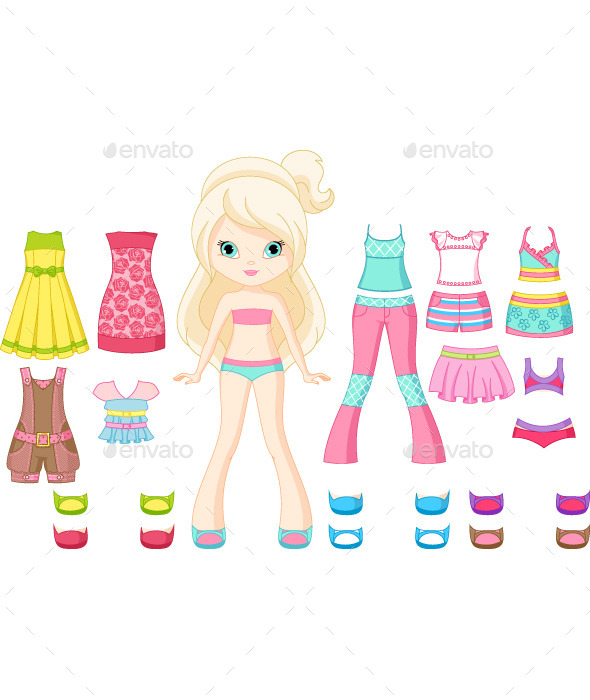 GraphicRiver Paper Doll 11503185