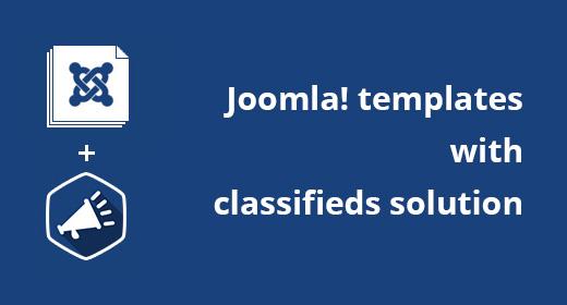 Classifieds Joomla templates