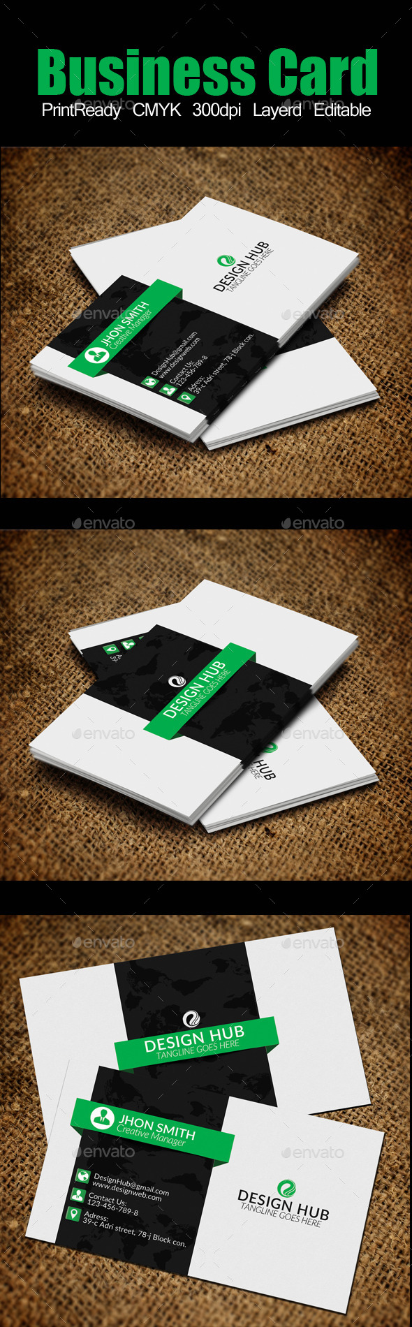 GraphicRiver Business Card Template 11506395