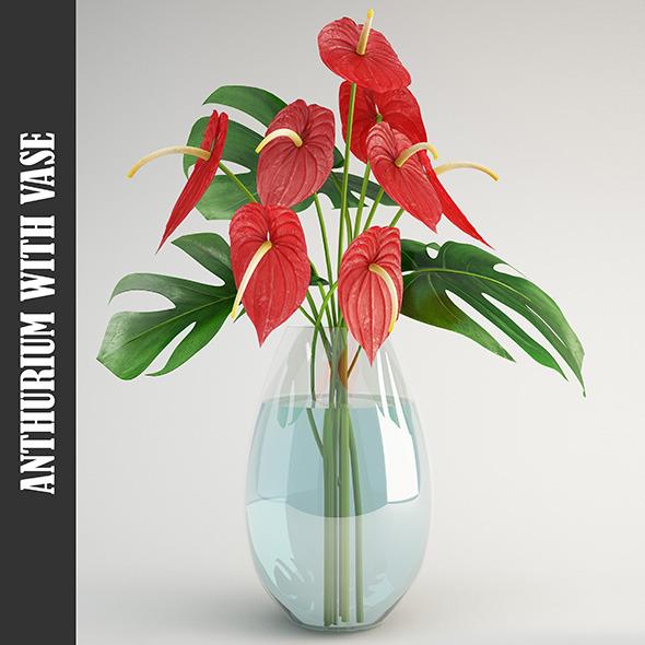 3DOcean Anthurium 11506438