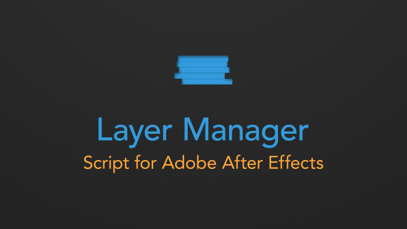 VideoHive Layer Manager 11506618