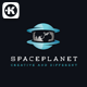Space Planet Logo - GraphicRiver Item for Sale