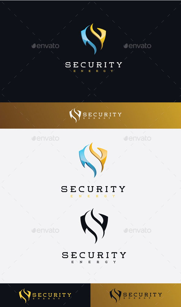 GraphicRiver Security Energy Logo 11506705