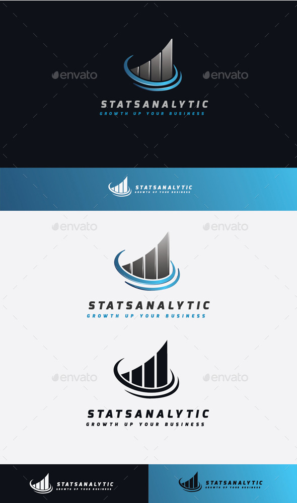 GraphicRiver Stats Analytic Logo 11506737
