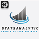 Stats Analytic Logo - GraphicRiver Item for Sale