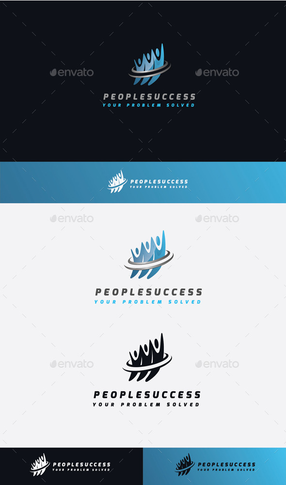 GraphicRiver People Success Logo 11506825