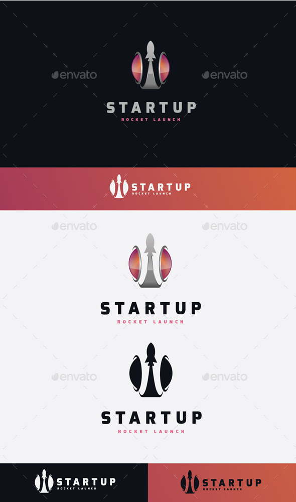 GraphicRiver Startup Launch Logo 11506853