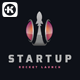 Startup Rocket Logo - GraphicRiver Item for Sale