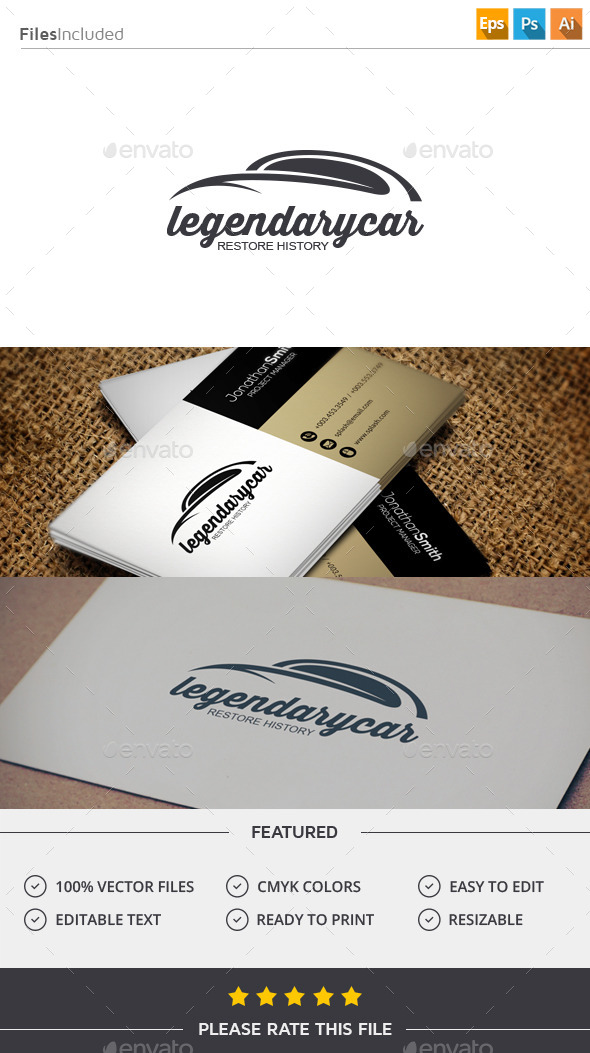 GraphicRiver Classic Car Logo 11506862
