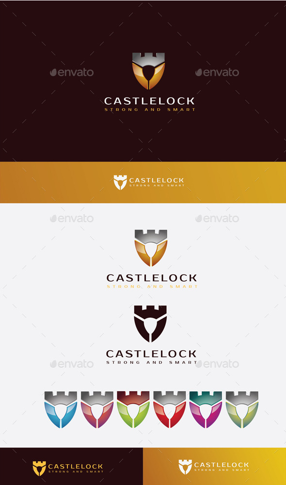 GraphicRiver Castle Lock Logo 11506877