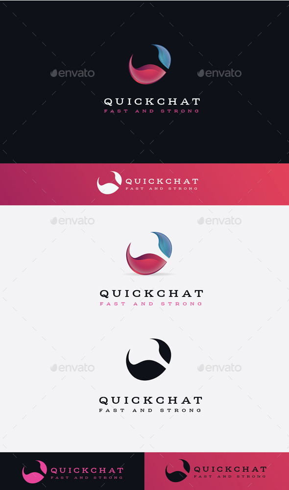 GraphicRiver Quick Chat Logo 11506883