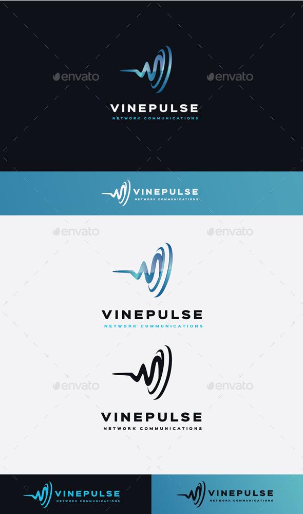 GraphicRiver Vine Pulse Logo 11506894