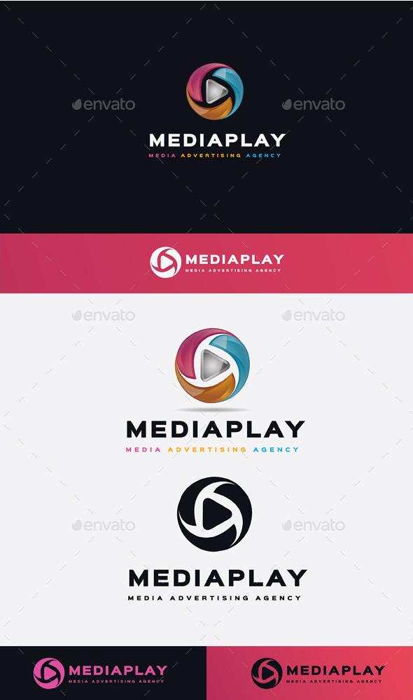 GraphicRiver Media Play Logo 11506896