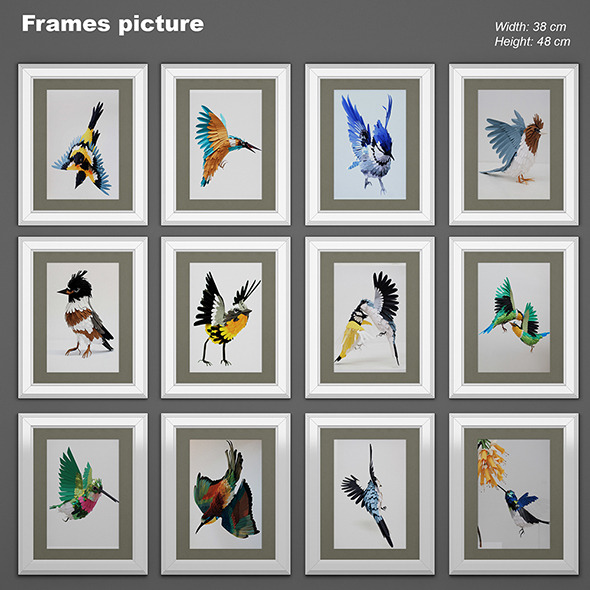 Frames picture 02 - 3DOcean Item for Sale