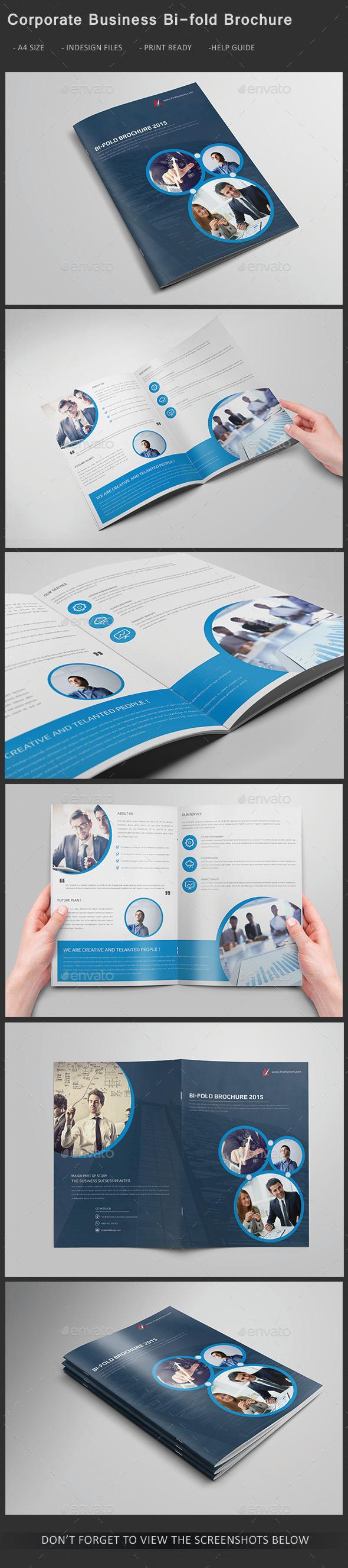 GraphicRiver Corporate Business Bi-fold Brochure 11507089