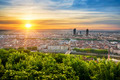 View of Lyon at sunrise - PhotoDune Item for Sale