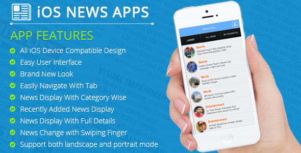 CodeCanyon iOS News App 11507213