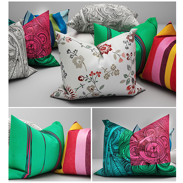 3DOcean Pillows ikea 02 11507354