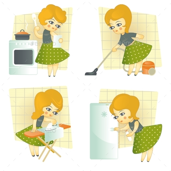 GraphicRiver Housewife 11507366